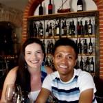 Split wine tasting