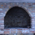 Brick oven at Bedalov Winery in Kastela