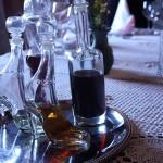 Homemade Croatian brandy called rakija