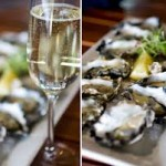 Oyster and Croatia sparkling wine
