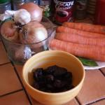 Croatia Cooking Class Ingredients