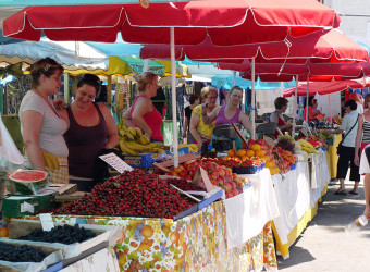 Split Walking Tour of Farmer's Market
