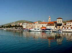 Boat trip to Trogir, Croatia